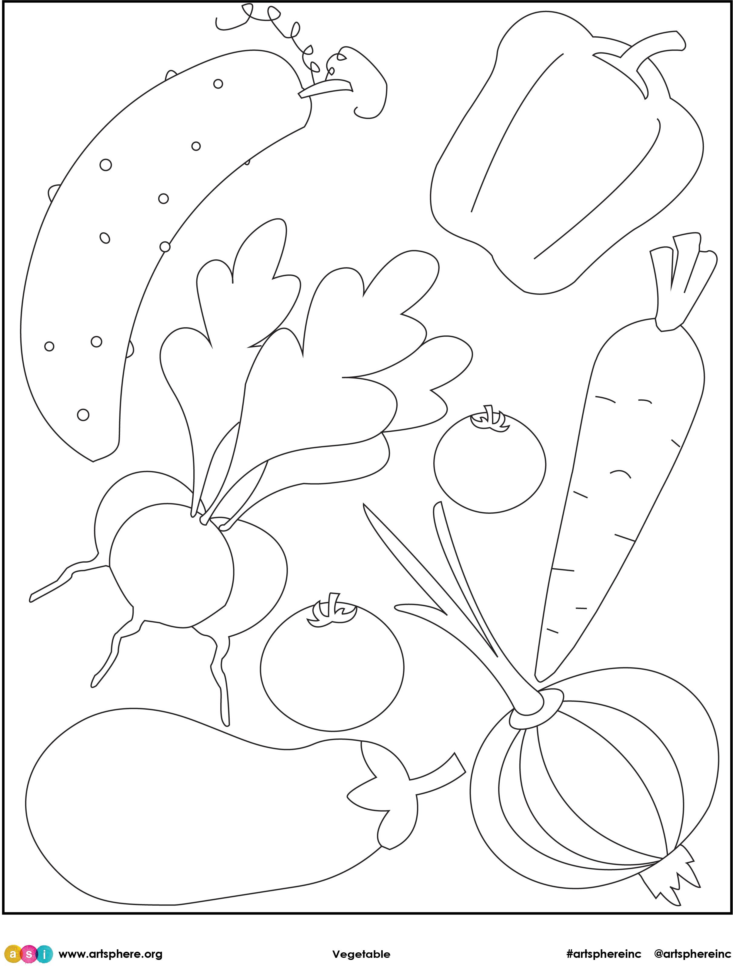 Free Lesson Plan: Vegetable Handout