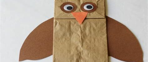 Free Lesson Plan: Paper Bags Owls