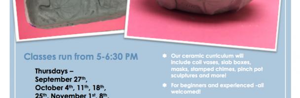 Clases de cerámica para mujeres en Dendy