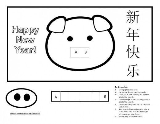 Chinese New Years, Year of the Pig