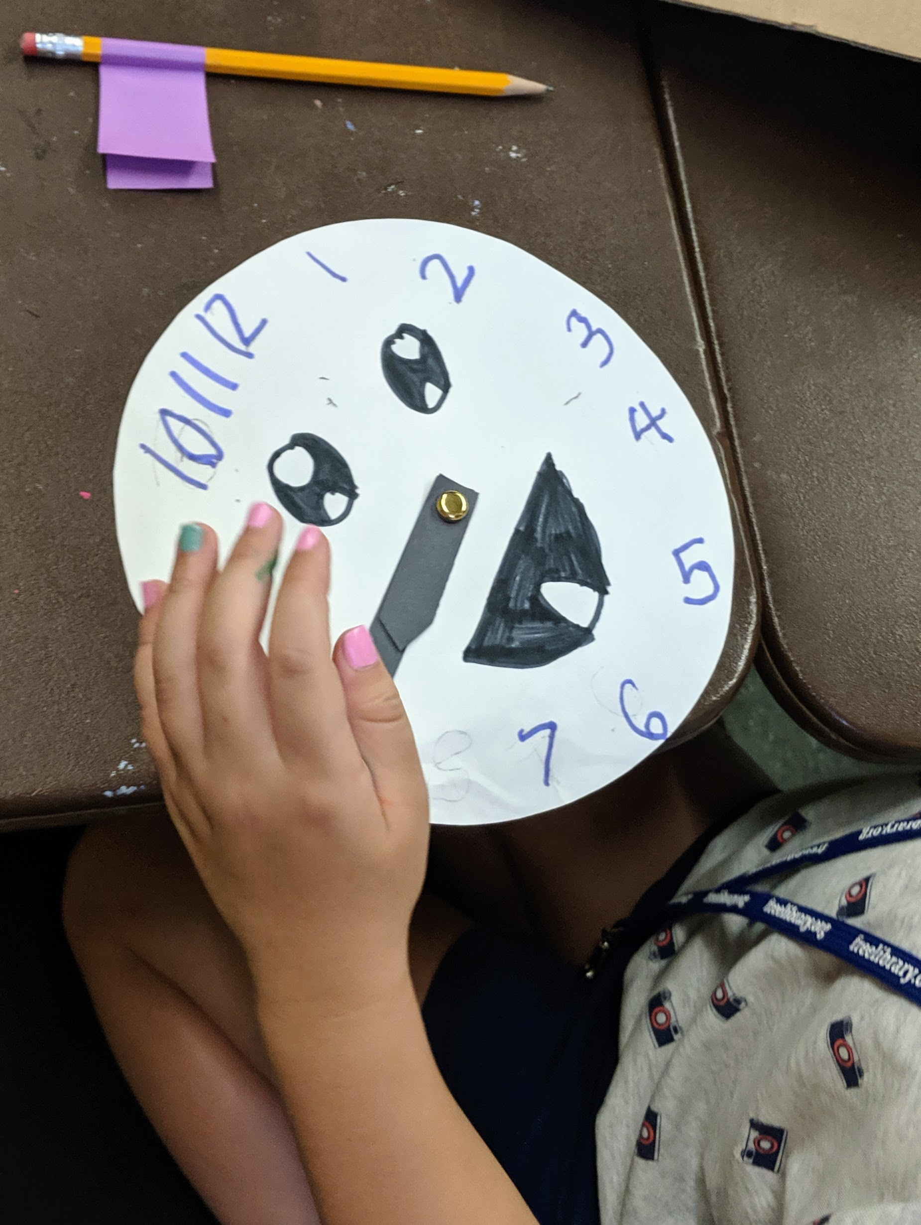 Clock Faces – 1st Grade