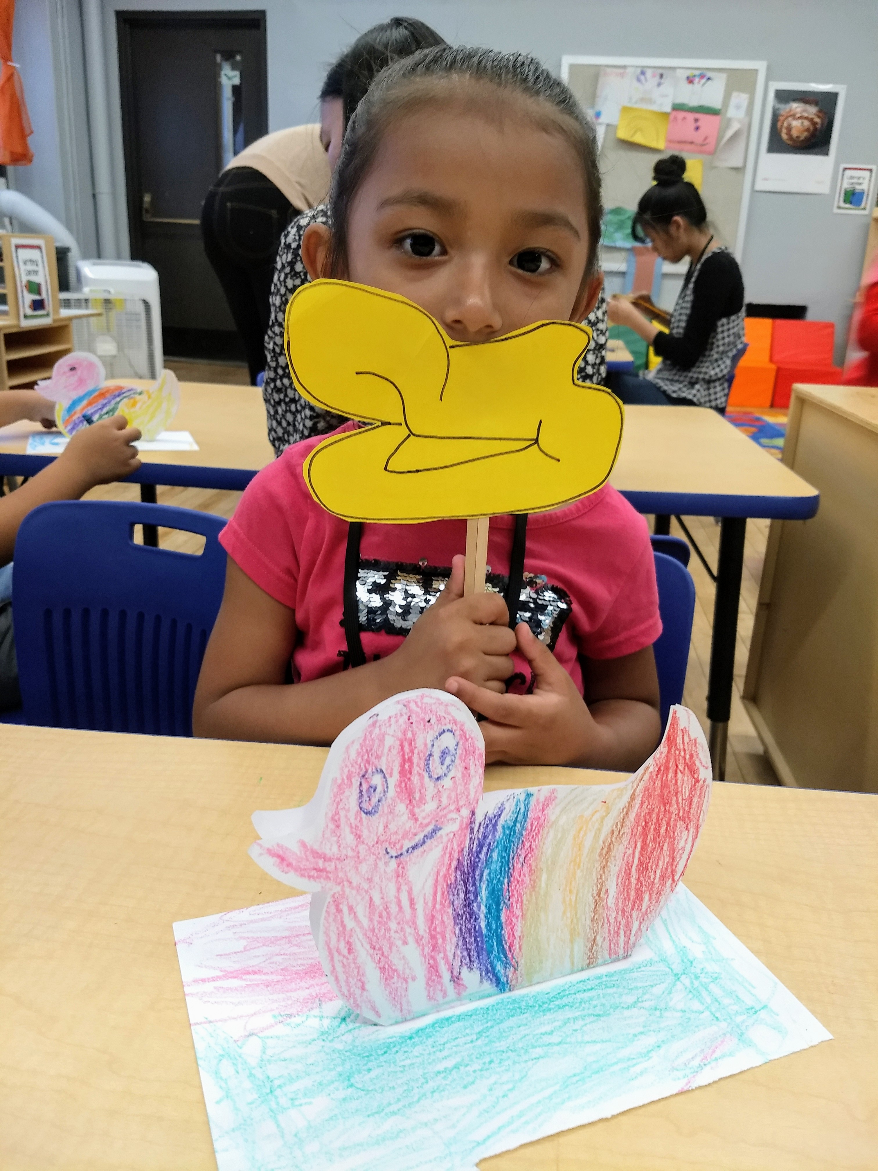 Students Design New Duck Species