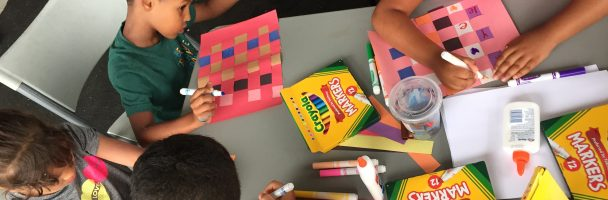 Paper Weaving and Booklet Making