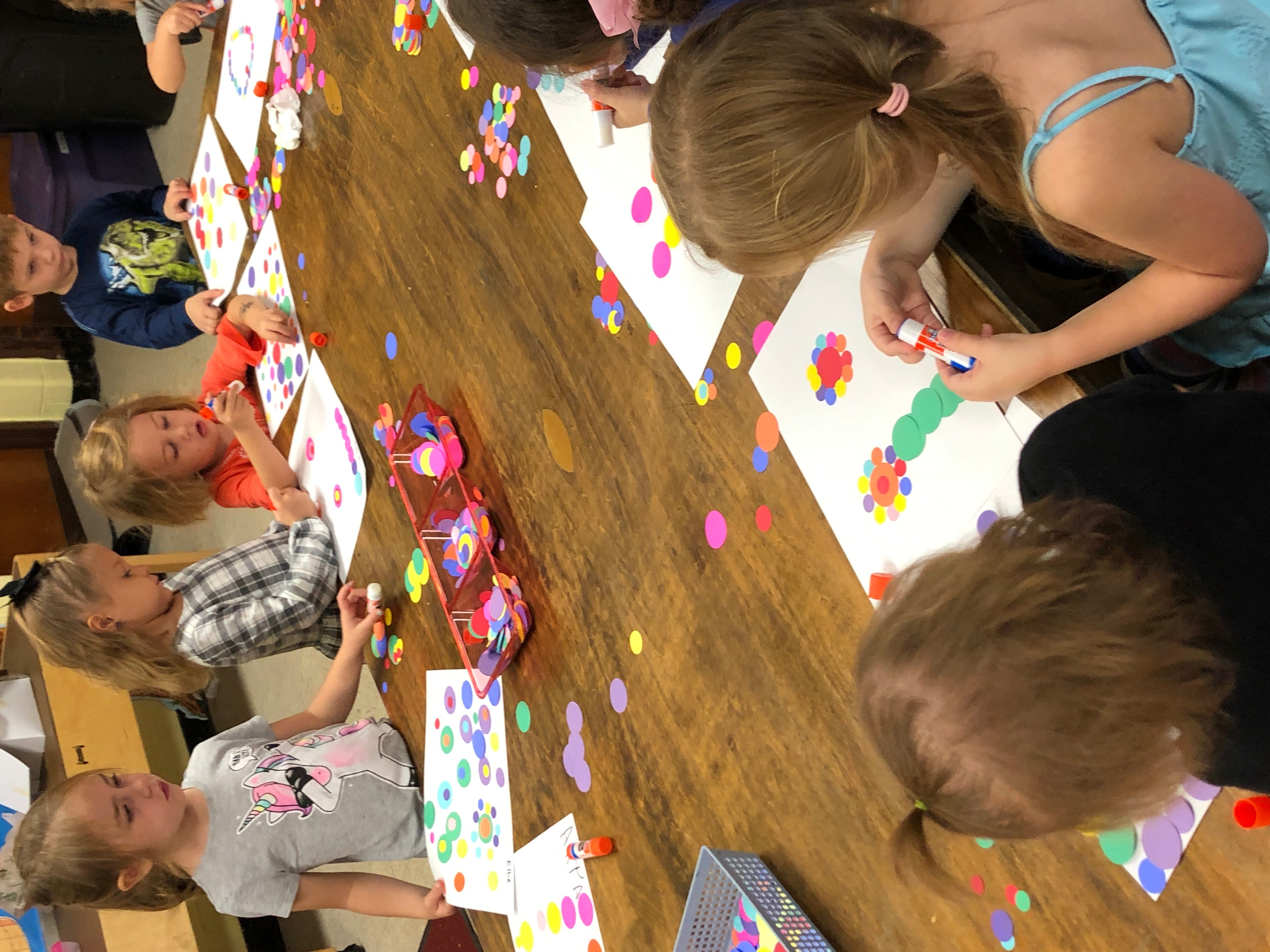 Lesson Plan: The Dot (or Anyone Can Be an Artist, It All Begins with a Dot!)