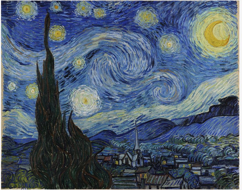 A Close Look at Van Gogh's Starry Night