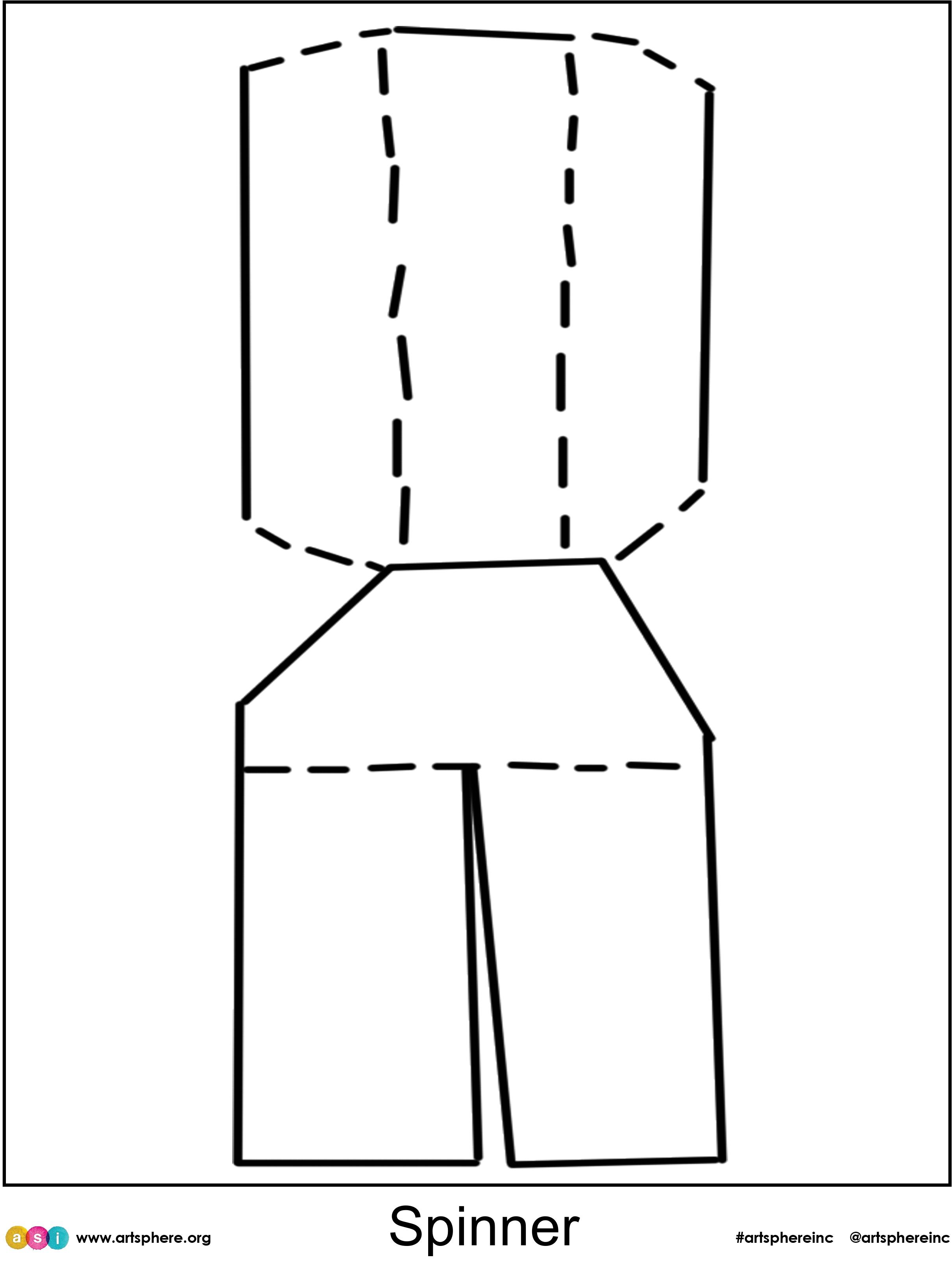 Spinner Cutout Handout