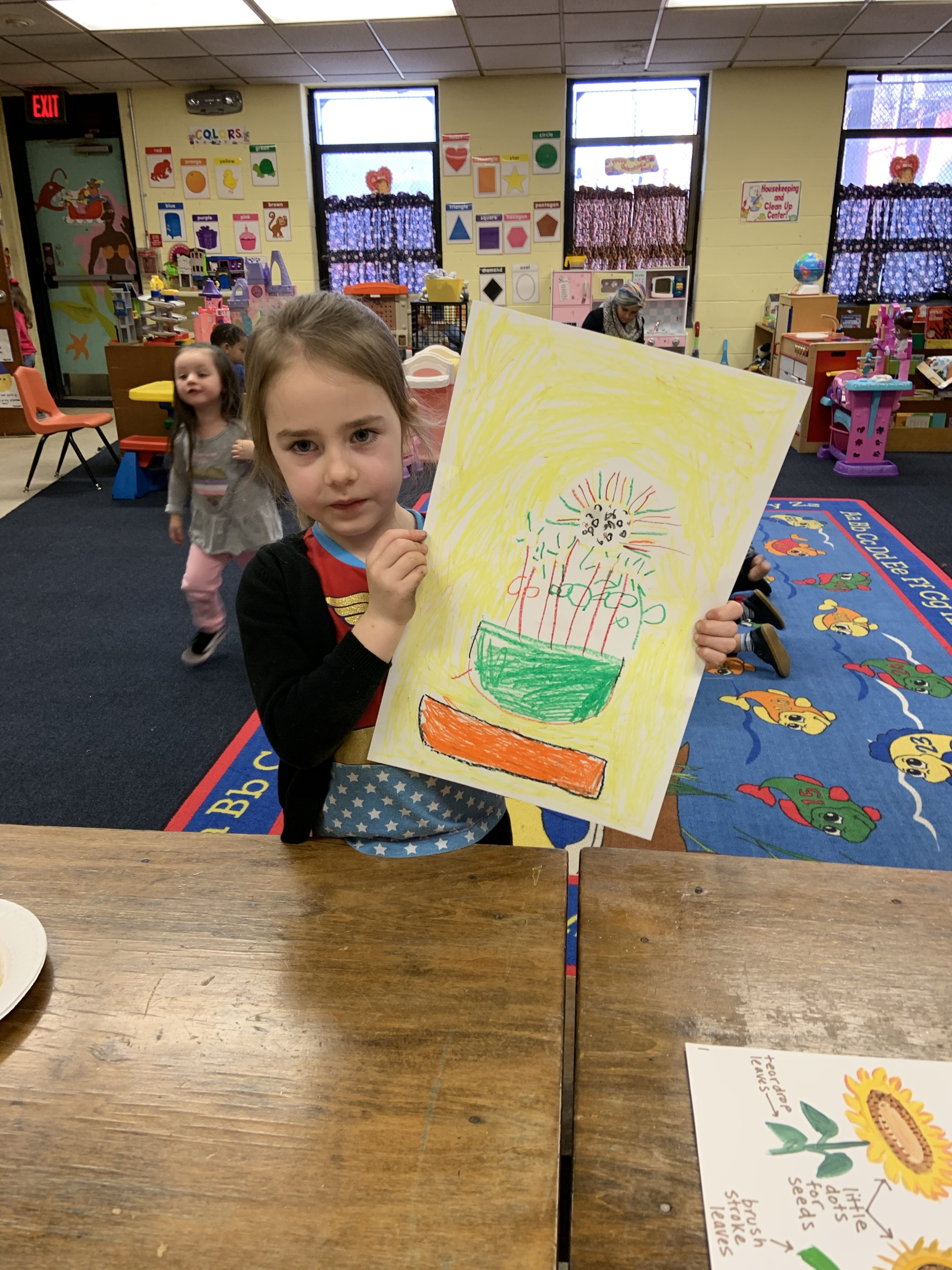 Lesson Plan: Van Gogh's Sunflowers for Preschoolers