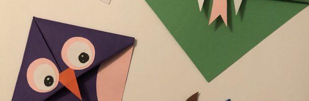 Origami Bookmark Corners