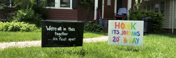 DIY Lawn and Window Signs