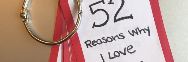 52 Reasons Why I Love You Handout