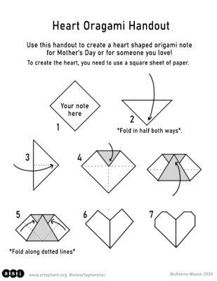 orgami heart crafts | Paper Folding Crafts: Tea Bag Folding ... | 400x309