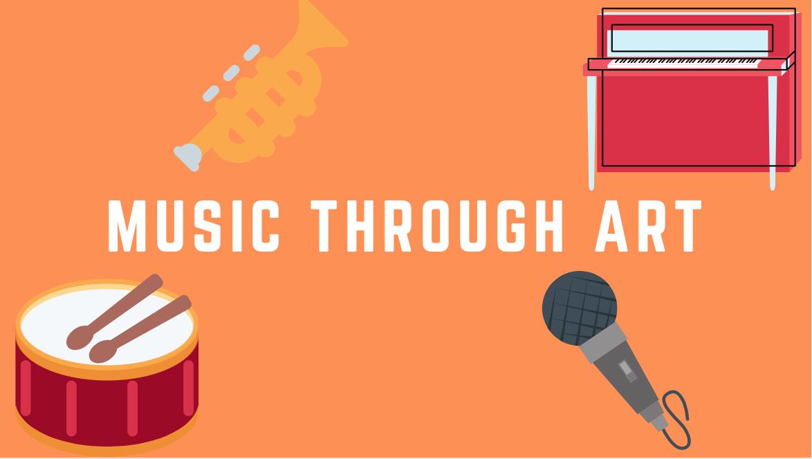 Music through art