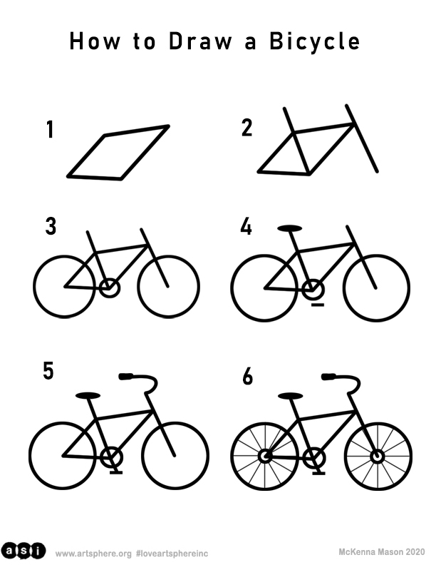 How to Draw a Bicycle Handout