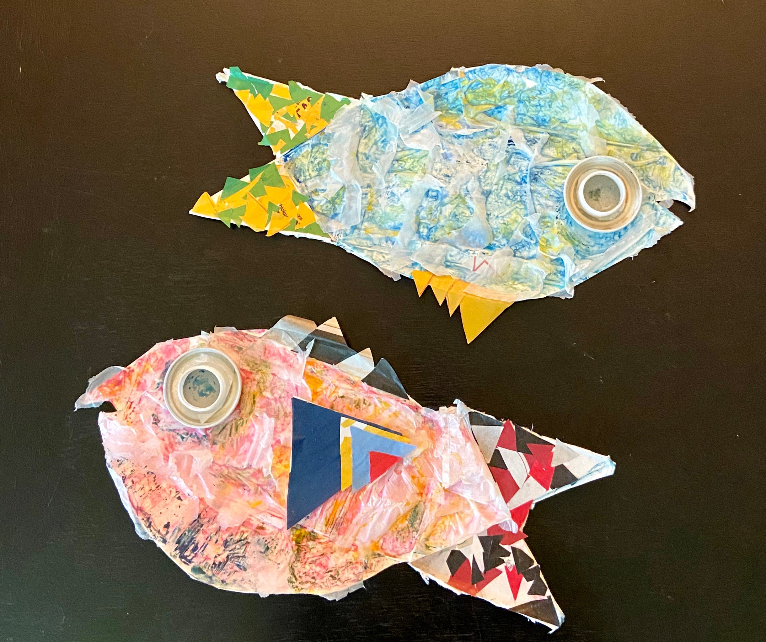Rodney McCoubrey Inspired Recycled Fish
