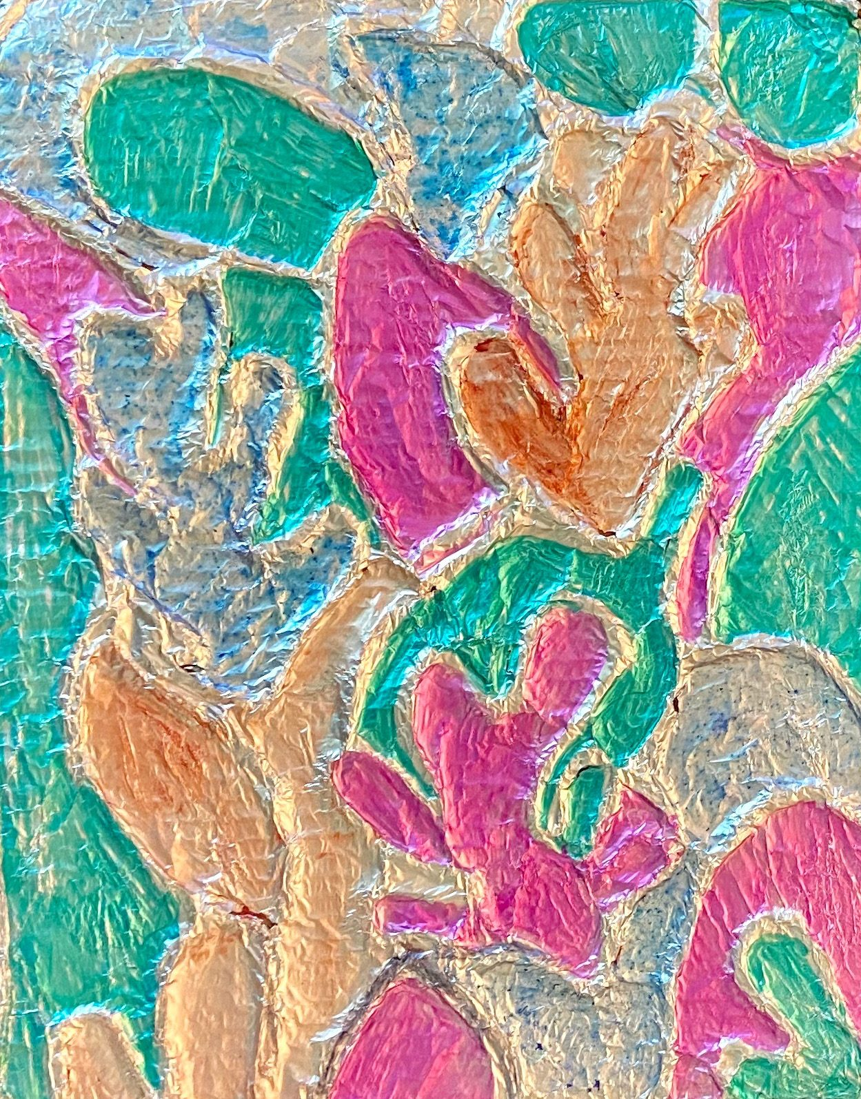 "Henri Matisse ""Stained Glass"" Foil Embossing."