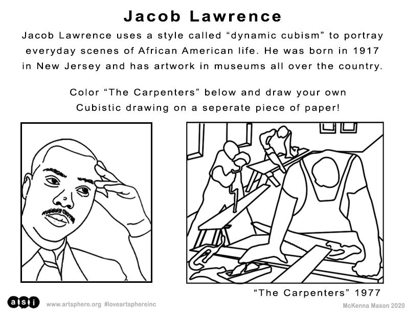Jacob Lawrence Handout
