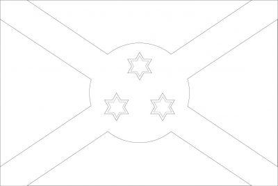 Color Burundi's Flag!