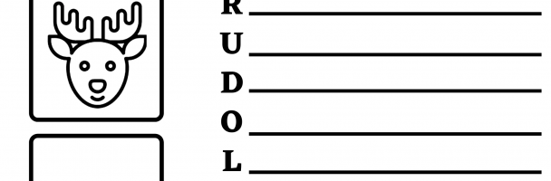 Rudolph the Red Nosed Reindeer Handout
