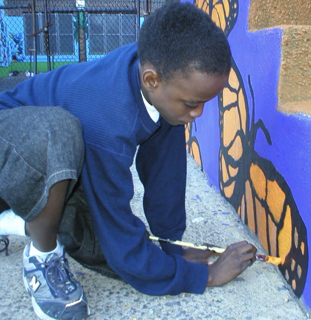 ASI Student Painting Mural