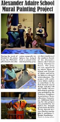 ASI at Alexander Adaire News Article