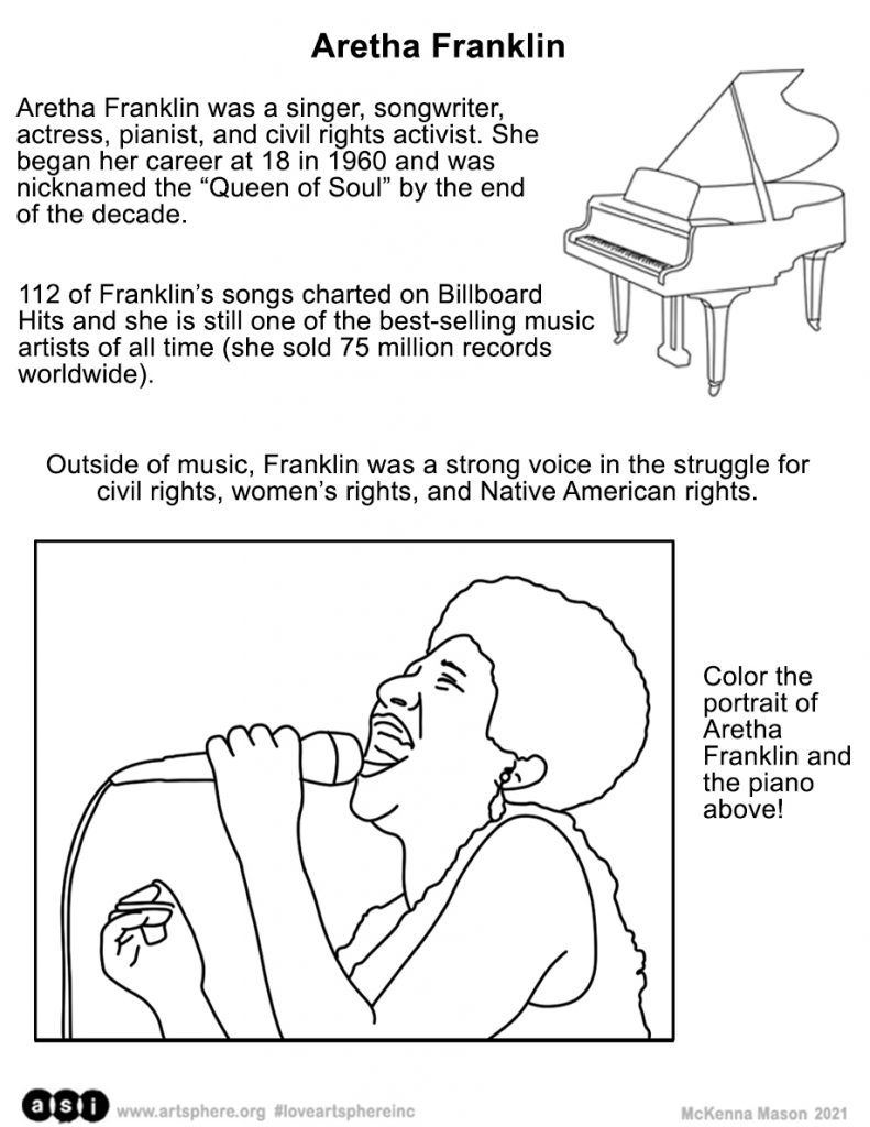 Aretha Franklin Handout