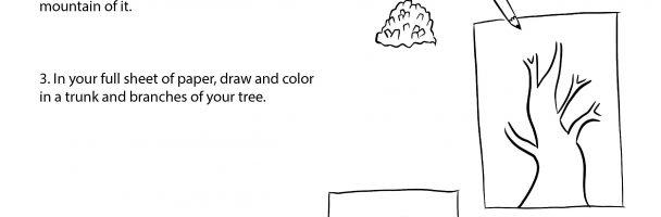 Scrap Tree Art Project