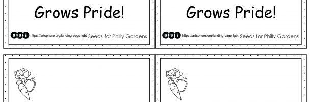 Grow Pride Garden Signs