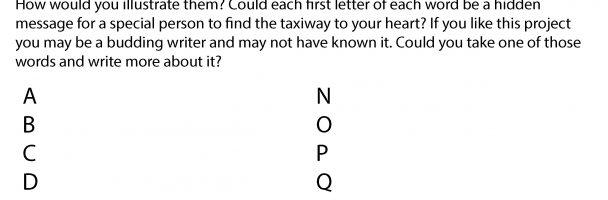 Create Your Own Aviation Alphabet