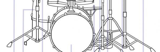 Drum Kit Diagram Handout