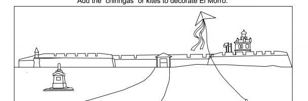 Decorate the Historical Monument El Morro!