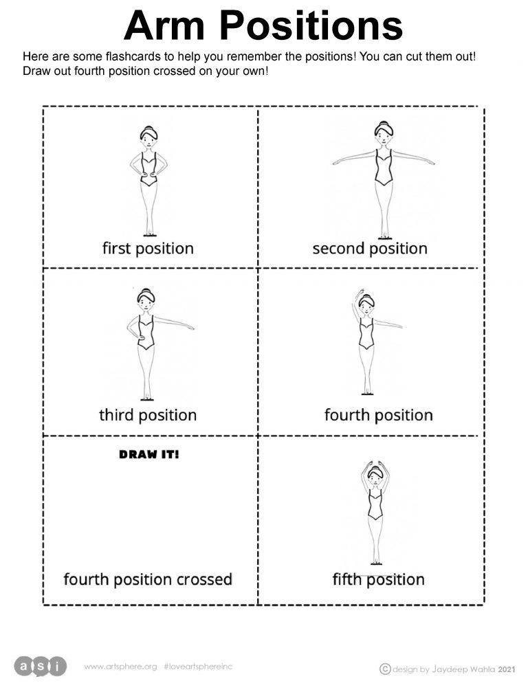 Arm Positions Handout