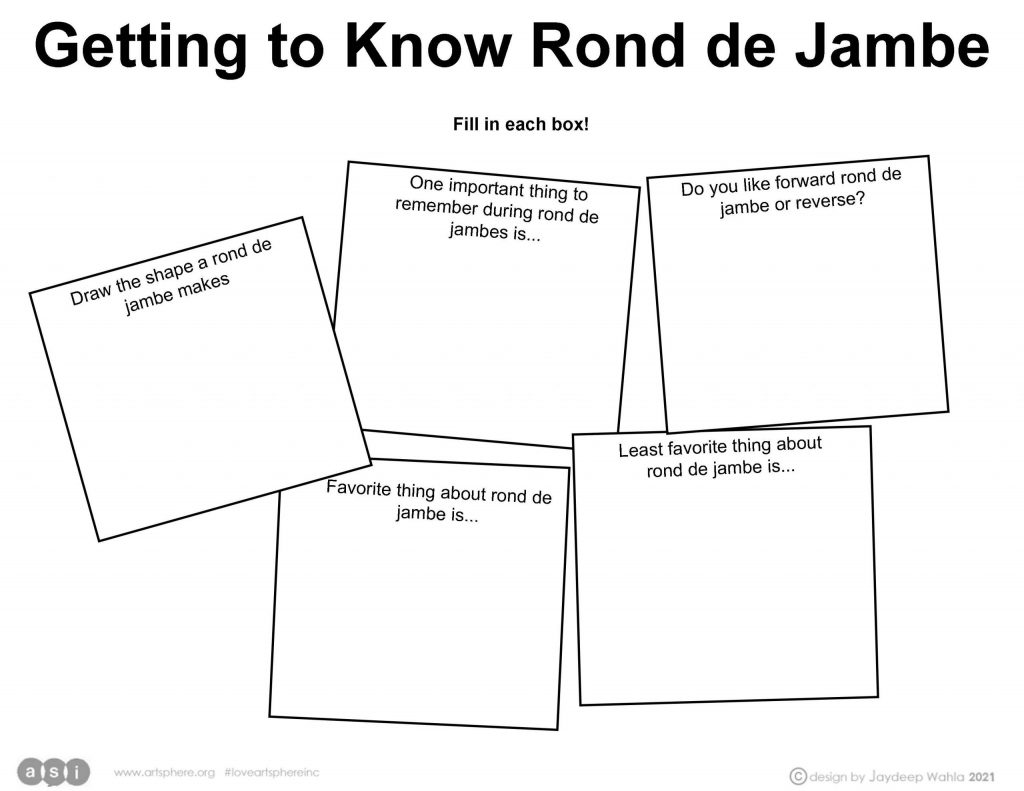 Getting to Know Rond de Jambe