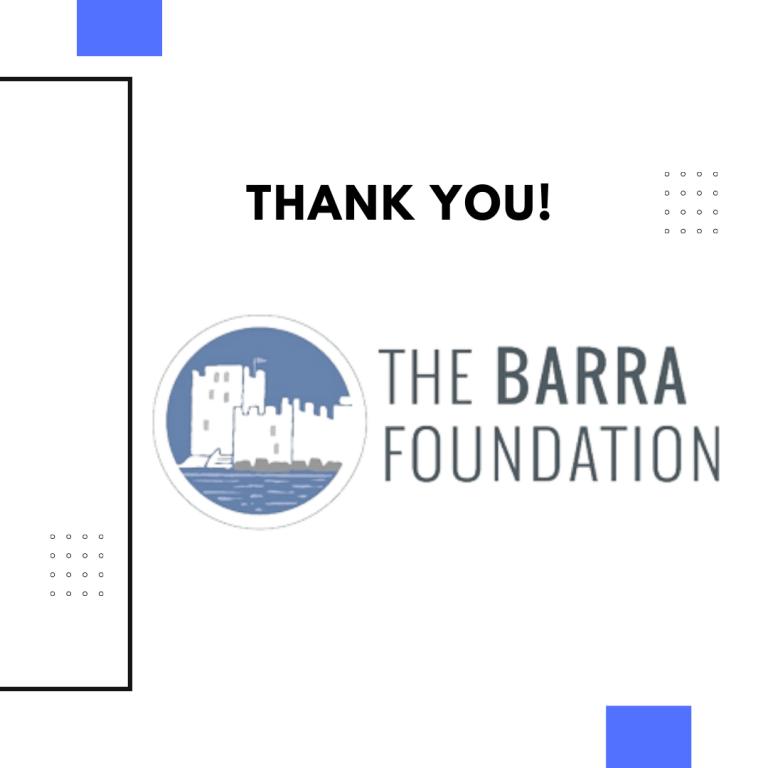 Thank you - Barra - Newsletter - October, 2021 (1)