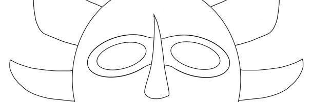 Make Your Own Vejigante Mask
