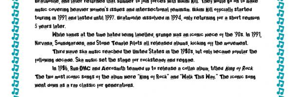 History of Rock: 1986 – 2000