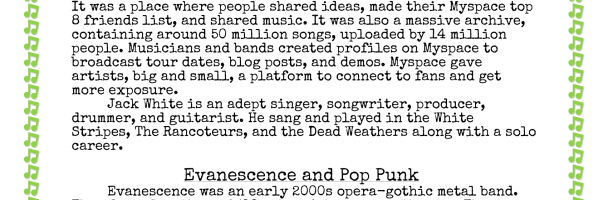 History of Rock: 2000 – 2010