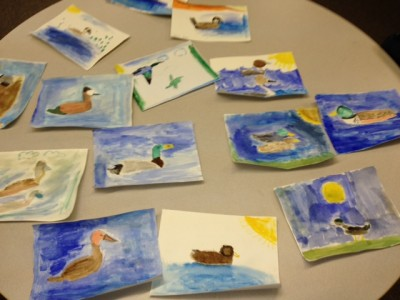 duck stamp project